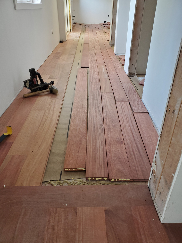 How to Install a Hardwood Floor - Dream