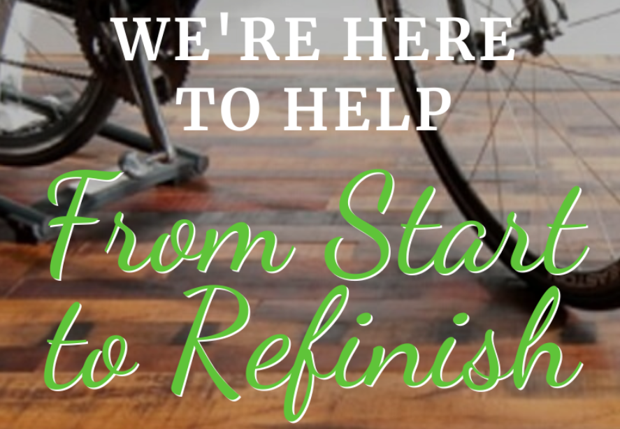 We're Here To Help From Start To Refinish! 🧽