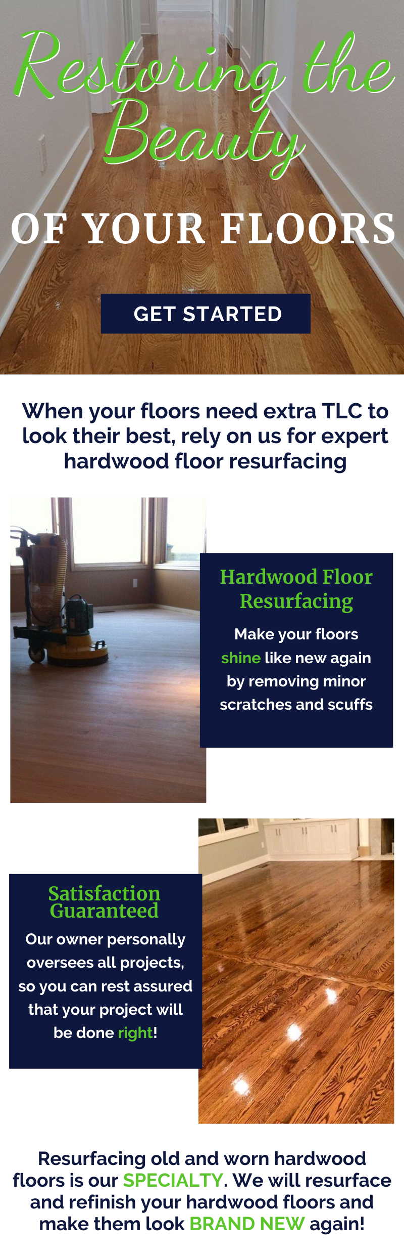 Restoring The Beauty Of Your Floors! 1