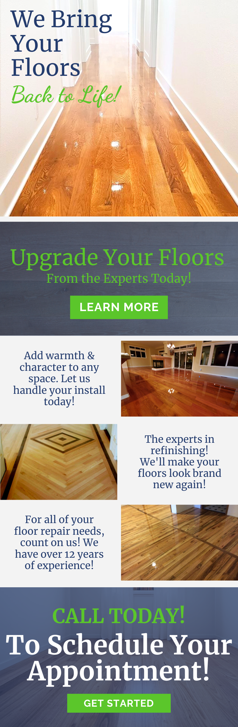 We Bring Your Floors Back To Life ✨ 1