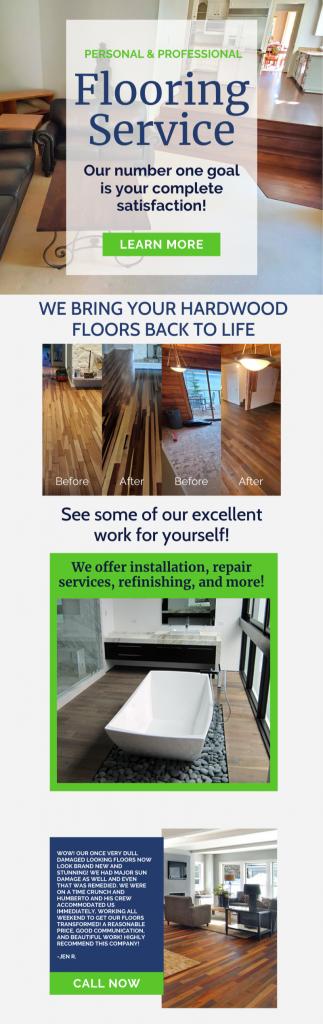 Personal & Professional Flooring Service! 1