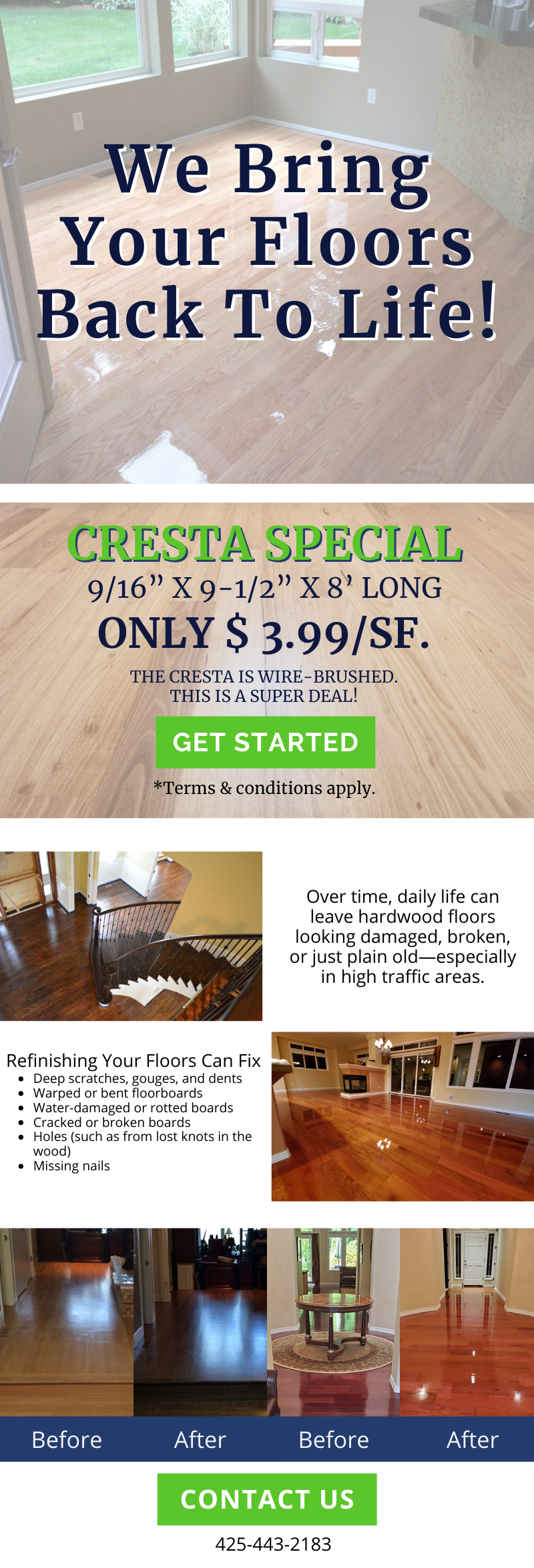 We Bring Your Floors Back To Life! 1