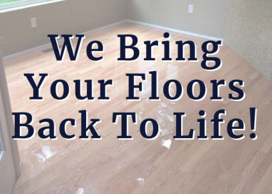 Read more about the article We Bring Your Floors Back To Life!